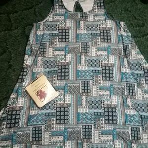 Bobbie Brooks dress size 1×/ plus black pantyhose